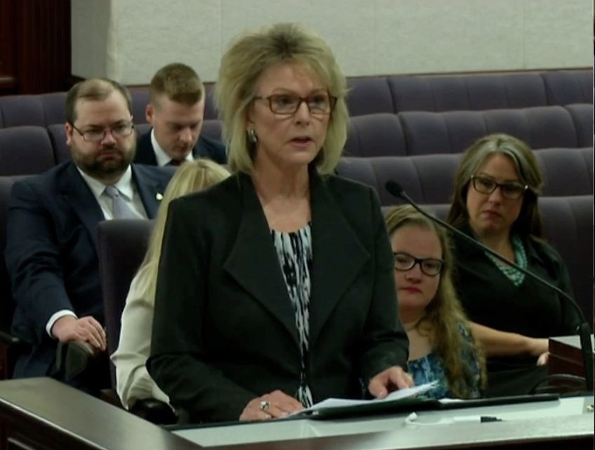 Rena Testifying for SB170 Florida Time Limitation on the Prosecution of Sexual Battery Cases Florida Senate